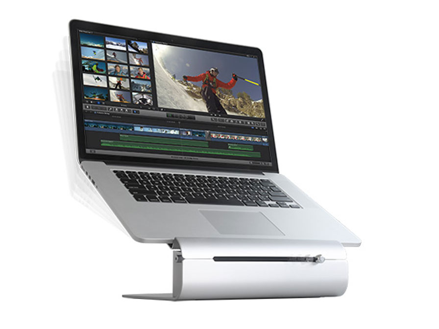 Rain Design iLevel2 MacBook Laptop Stand Zilver