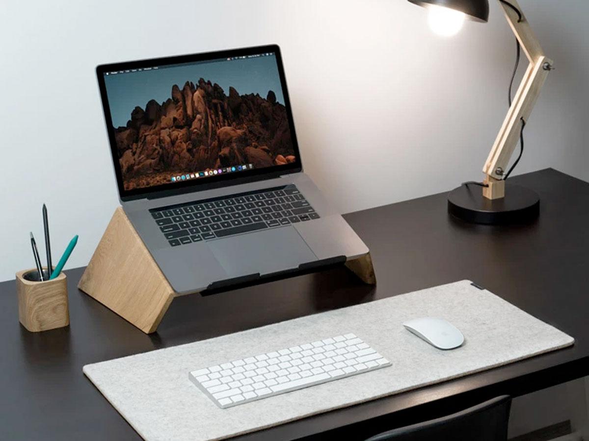 Oakywood Laptop Stand Oak - Houten MacBook Laptop Standaard
