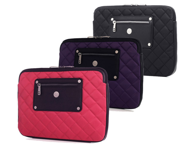 Knomo Quilted Slim Sleeve voor Macbook Pro (13 inch)