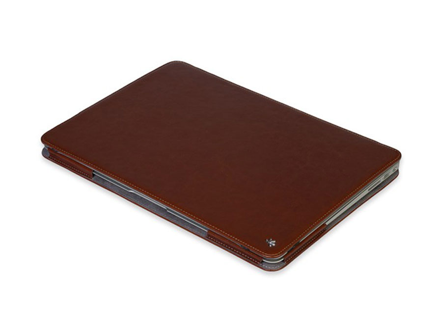 Gecko Deluxe Leather Case - Hoes voor MacBook Air 13 inch