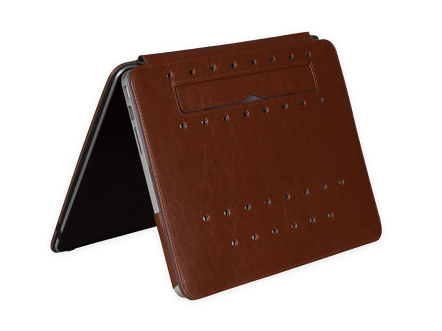 Gecko Deluxe Leather Case - Hoes voor MacBook Pro Retina 13 inch