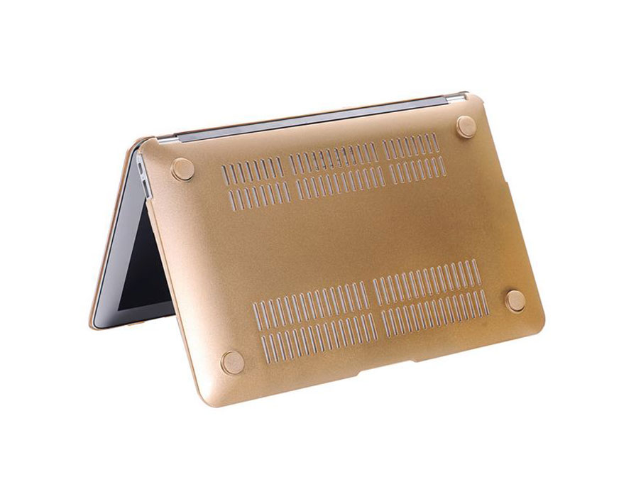 Golden case voor MacBook Pro Retina 13 inch