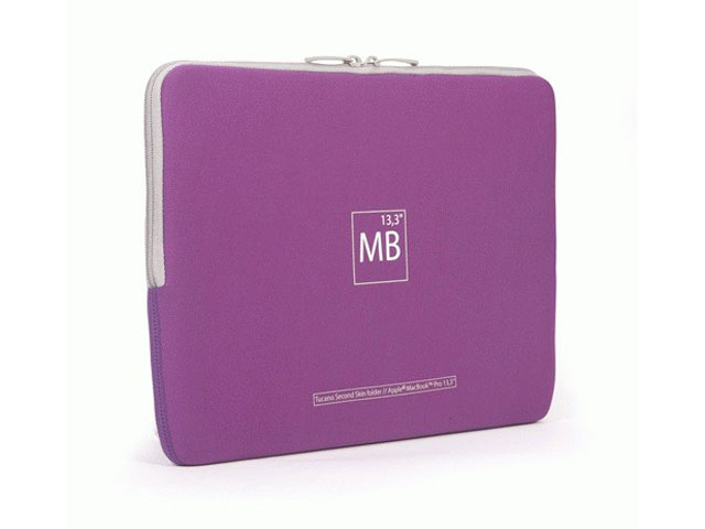Tucano Second Skin Elements Purple Edition Voor Macbook Pro 13 3