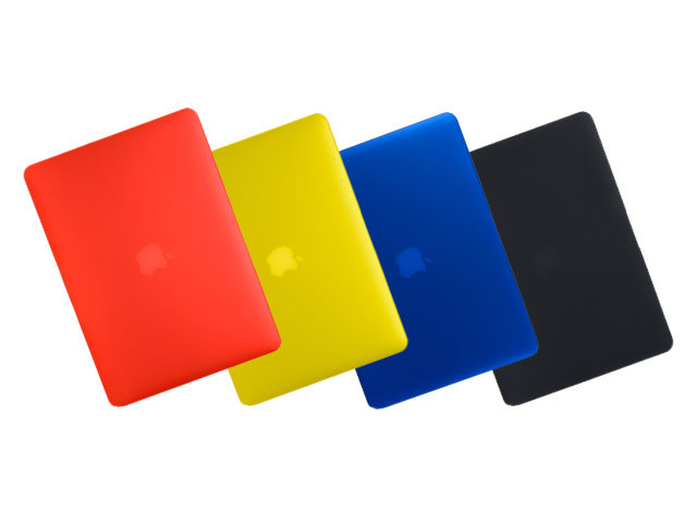 Gecko Frost Cover Primary Colors voor MacBook Pro Retina (15 inch)