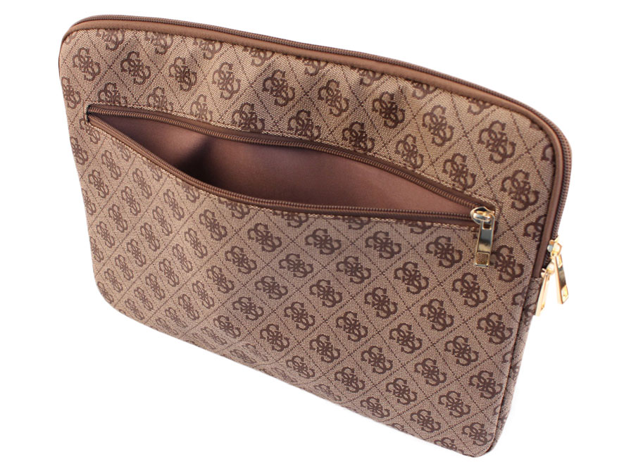 Guess Monogram Laptop Sleeve - 15 inch MacBook Hoes