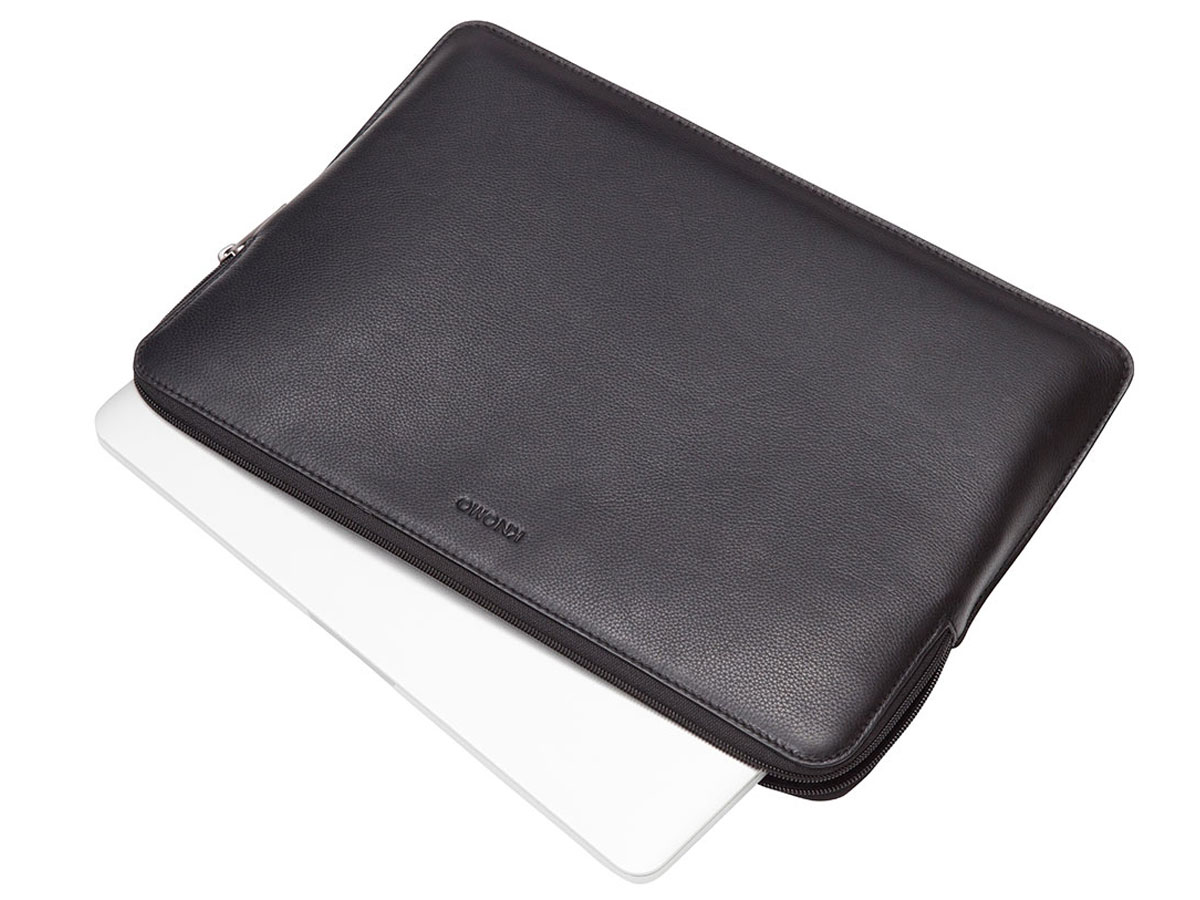 Knomo Leather Sleeve - MacBook 12 inch Hoes