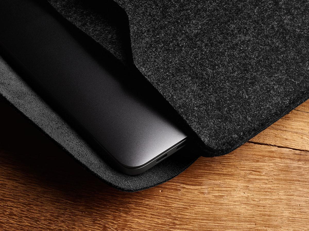 Mujjo Envelope Sleeve Zwart - MacBook Pro 16