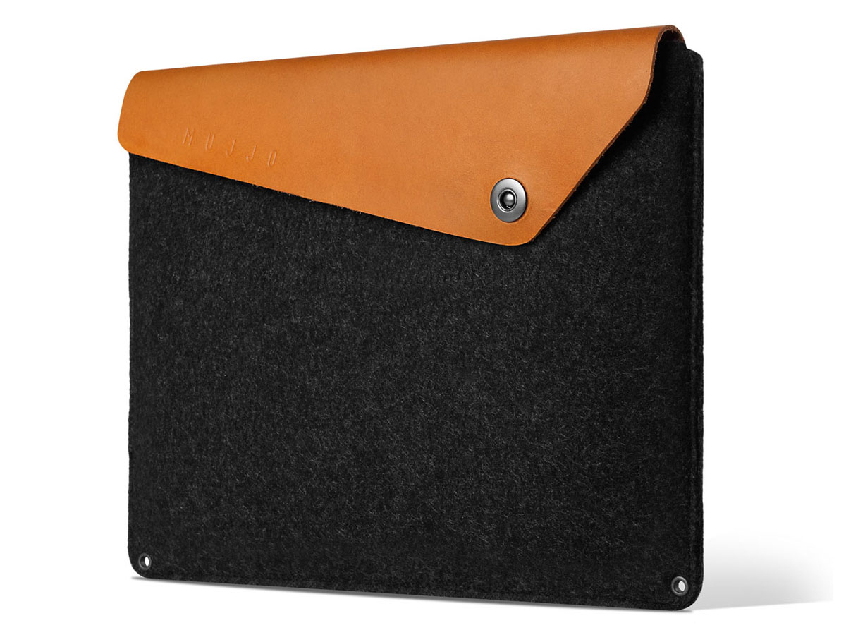 "Mujjo Envelope Sleeve Tan - MacBook Pro 16"" Hoes Cognac"