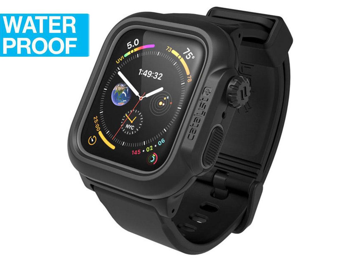 Catalyst Case - Waterdicht Apple Watch 4/5 44mm hoesje Zwart