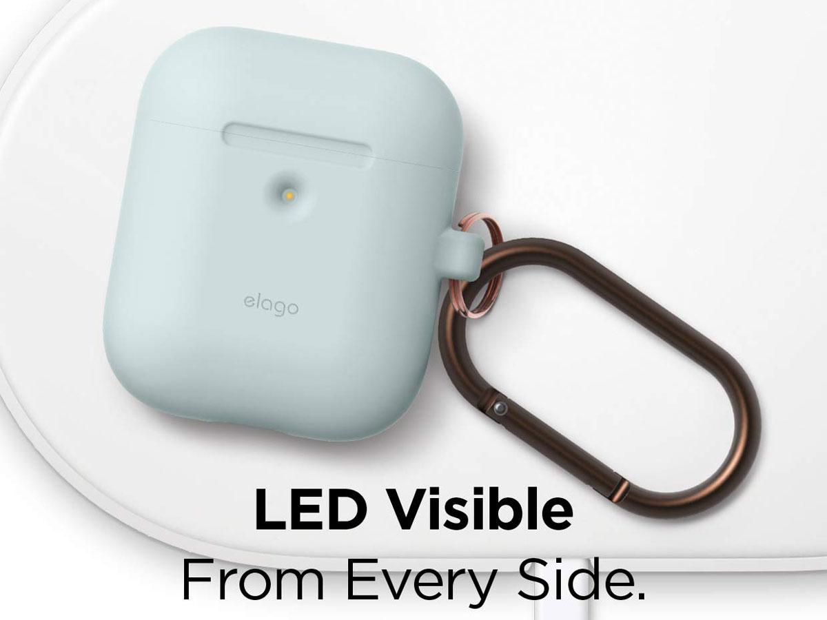 Elago Hang Case voor AirPods Wireless Charging Case - Mint