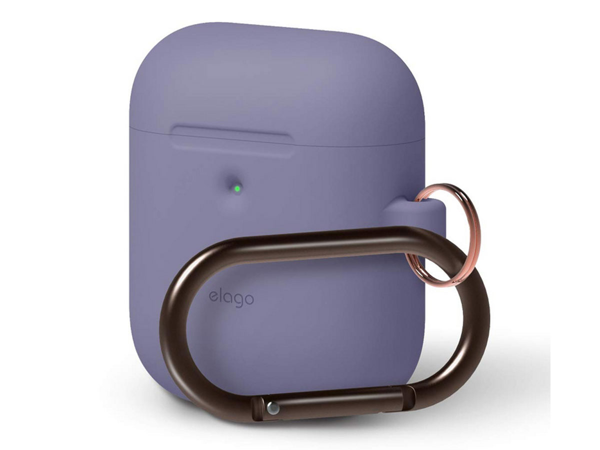 Elago Hang Case voor AirPods Wireless Charging Case - Paars