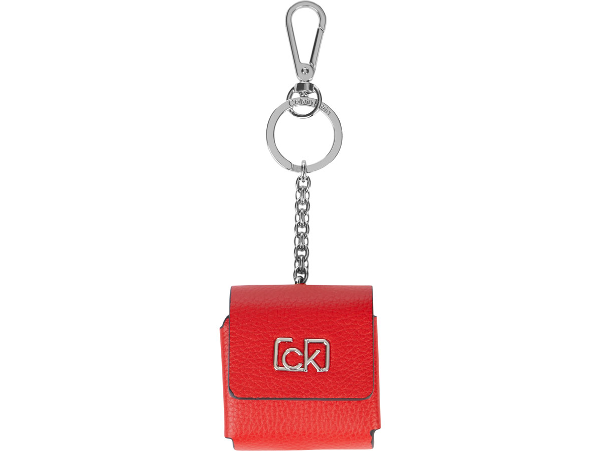 Calvin Klein AirPods Dangle Case Roze - AirPods 1 & 2 Case Hoesje