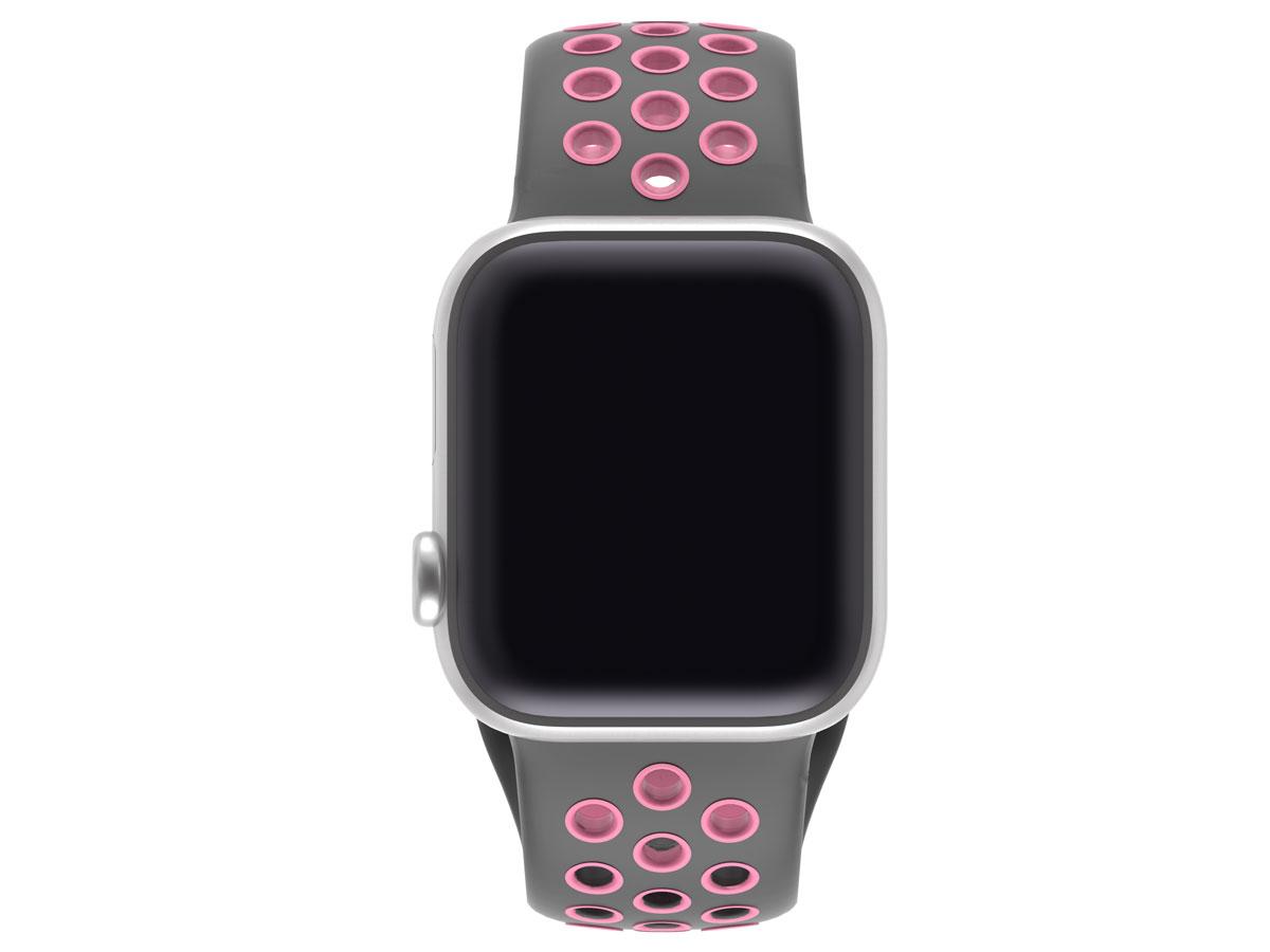 BeHello Silicone Sport Strap Roze - Apple Watch Bandje 38/40mm