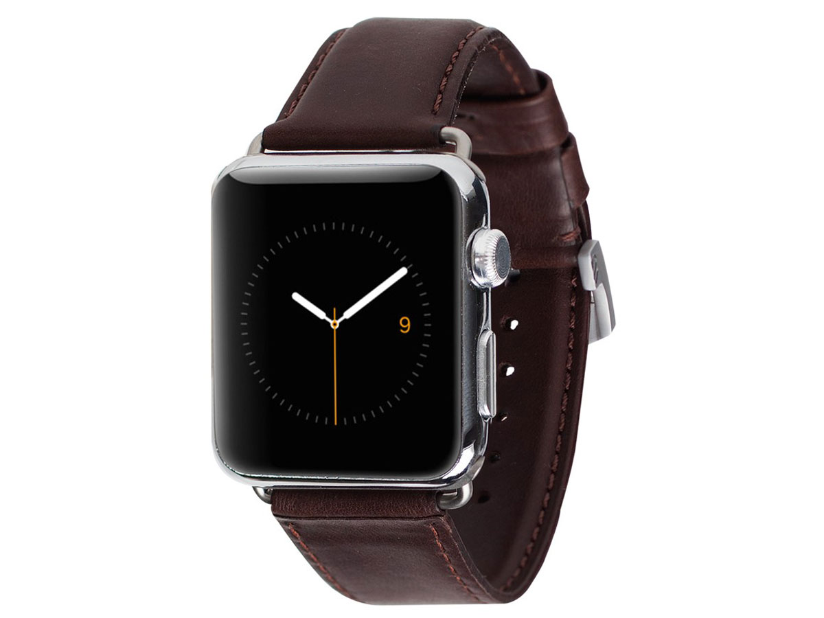 Case Mate Signature Leather - Apple Watch Band (Bruin)