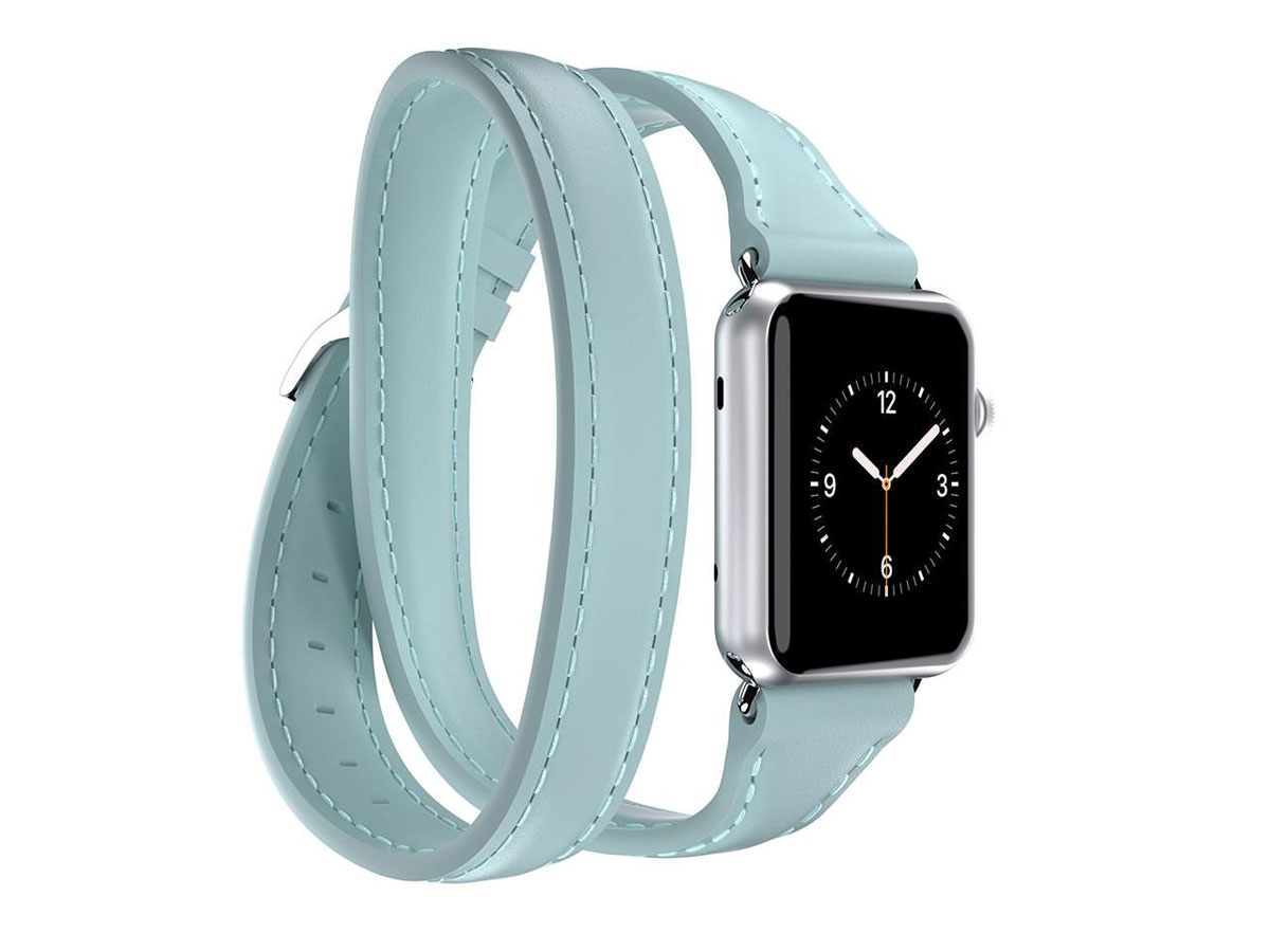 Griffin Uptown Band Mint - Apple Watch Bandje (38mm)