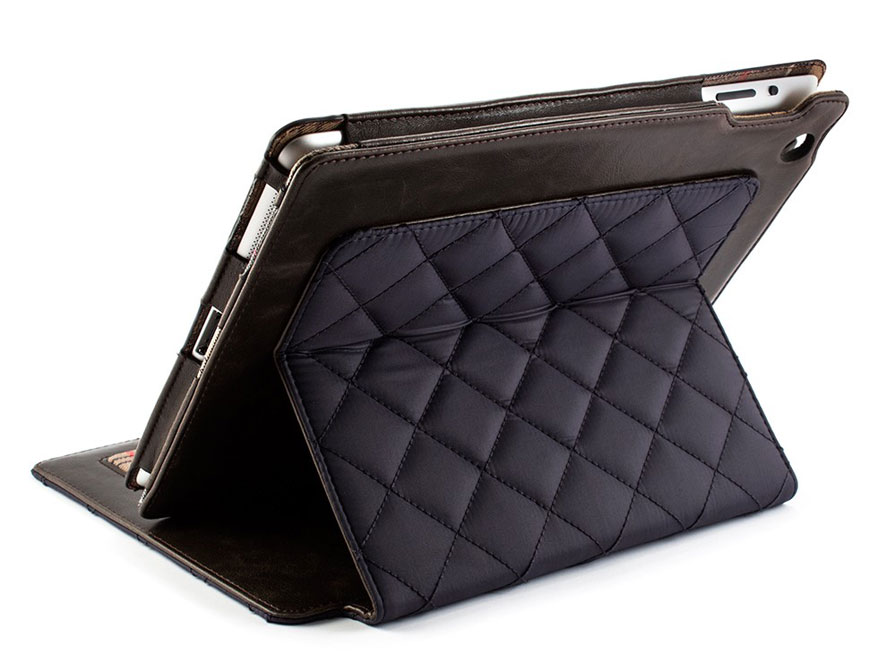 Barbour Quilted Folio Stand Case - Hoes voor iPad 2, 3 & 4
