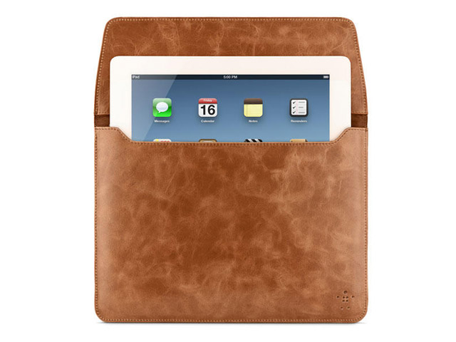 Belkin Full-Grain Vintage Leather Sleeve voor iPad