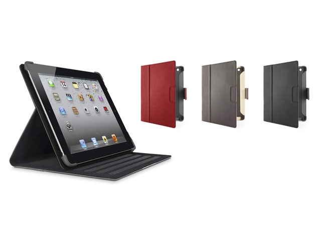 Belkin Cinema Leather Folio met Stand voor iPad 2, 3 & 4 (Sleep/Wake)