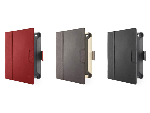 Belkin Cinema Leather Folio met Stand voor iPad 2, 3 & 4