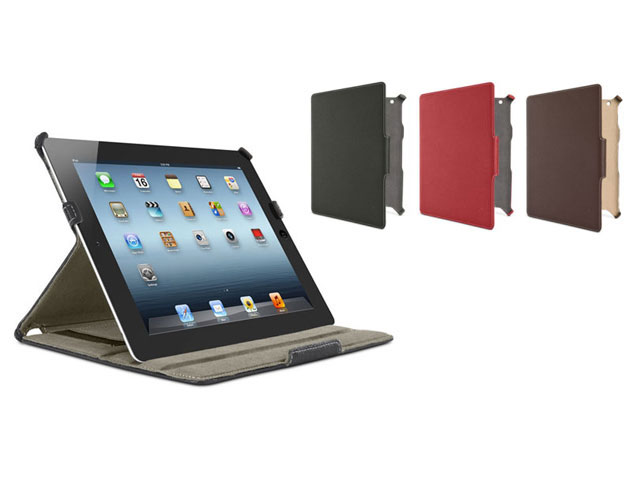 Belkin Fitted Folio Case met Stand voor iPad 2, 3 & 4 (Sleep/Wake)