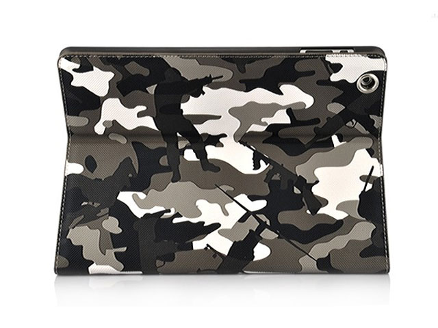 Camouflage Stand Case Hoes Cover voor iPad 2, 3 & 4 (Statis)