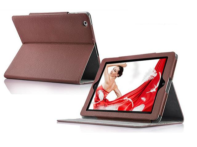 Colored Leather Cinema Stand Case voor iPad 2, 3 & 4