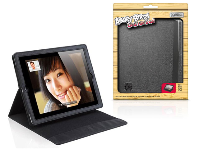 Angry Birds Gear4 Folio Stand Case Hoes voor iPad 2, 3 & 4