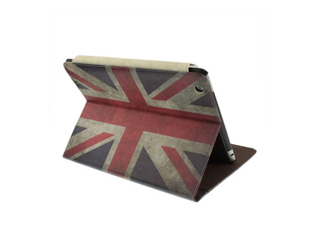 Great Brittain Vintage Flag Case voor iPad 2, 3 en 4