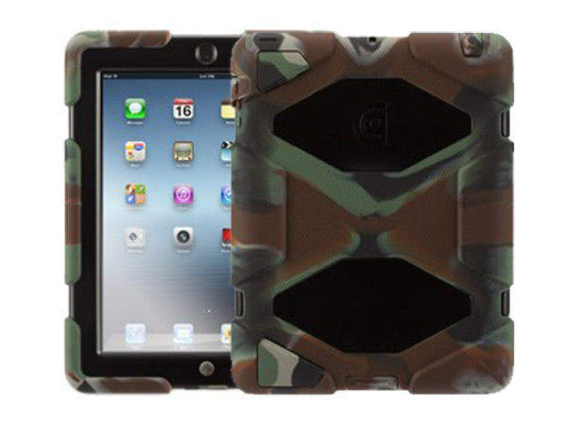 Griffin Survivor Armored Camo Military Grade Case voor iPad 2, 3 & 4