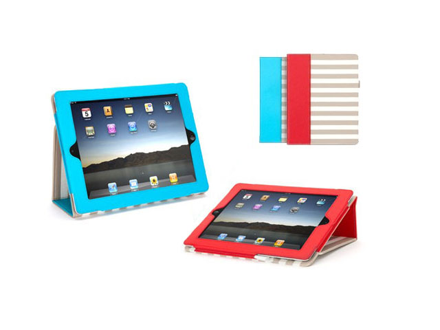 Griffin Elan Folio Cabana Case - iPad 2/3/4 Hoesje Rood