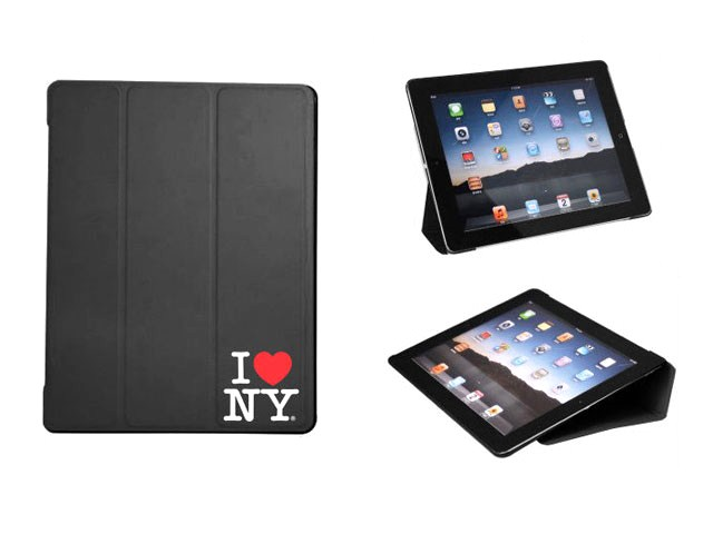 I love NY Book Case Stand Hoes voor iPad 2, 3 & 4