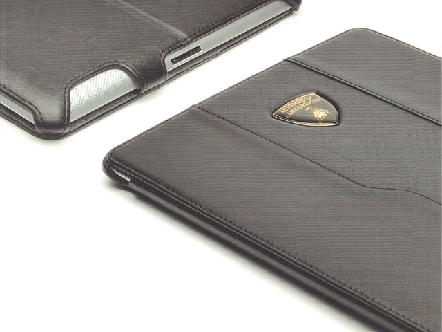 Lamborghini Leather Stand Case Hoes voor iPad 2, 3 en 4
