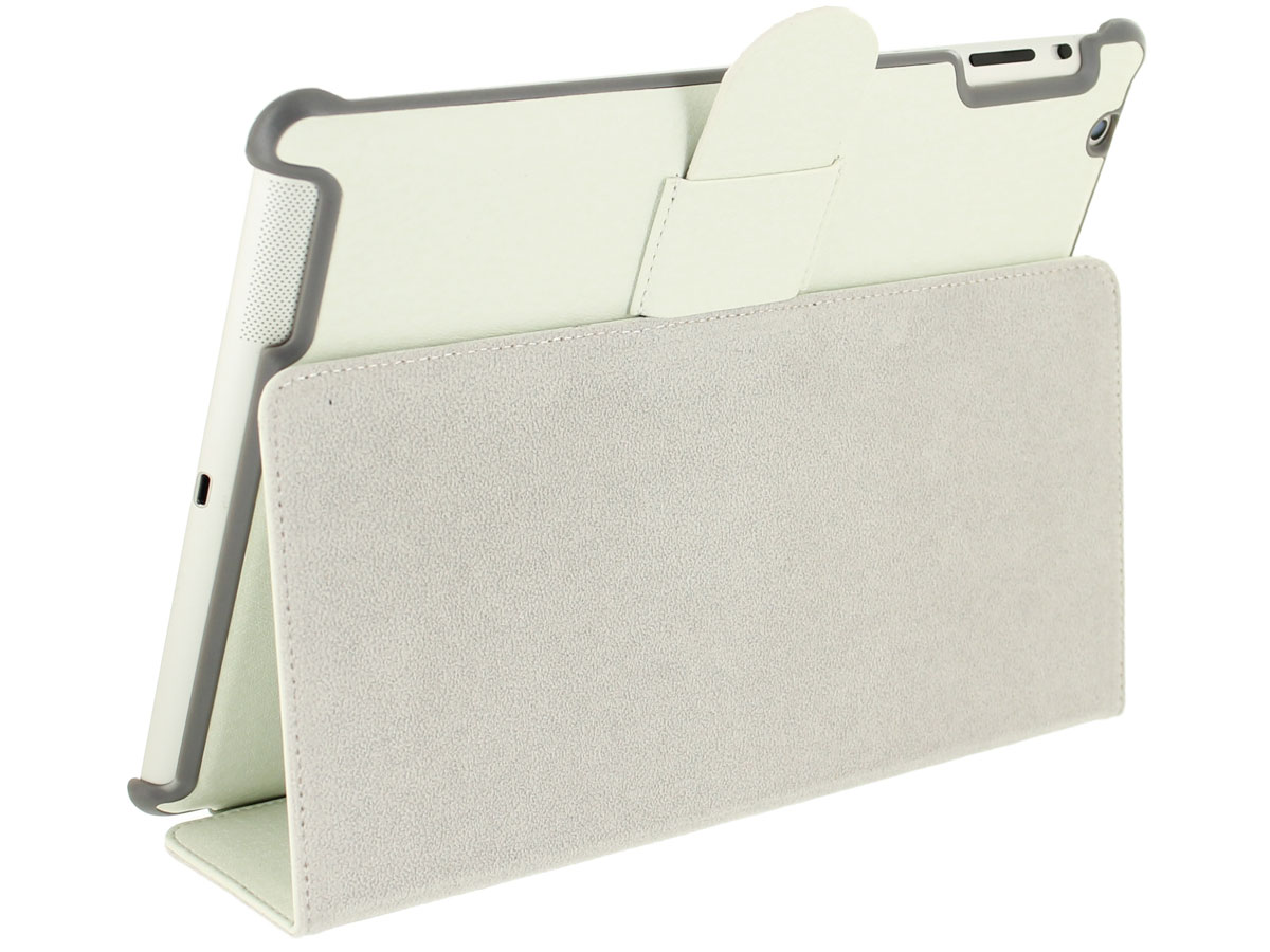 Slim Stand Case Wit - iPad 2/3/4 Hoesje