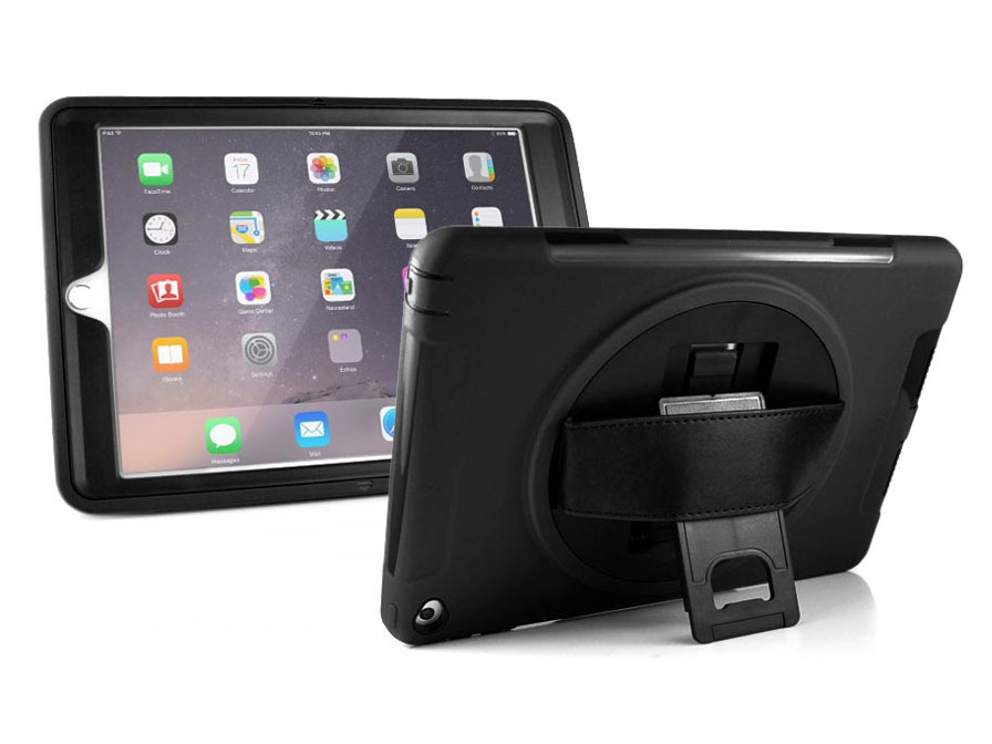 Airstrap Rugged Handvat Grip Case - iPad 4 Hoesje