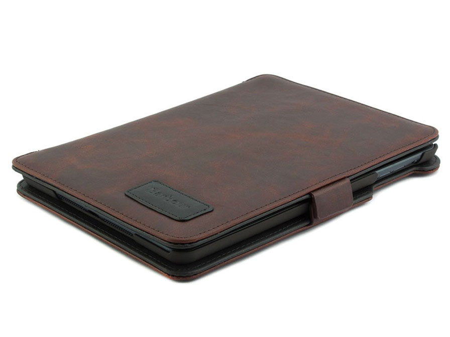 Barbour Leather Folio Stand Case - Hoes voor iPad Mini (Retina)