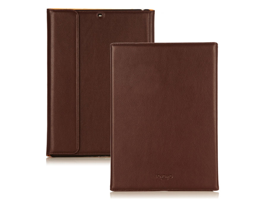 Knomo Premium Leather Folio - iPad Air Hoes