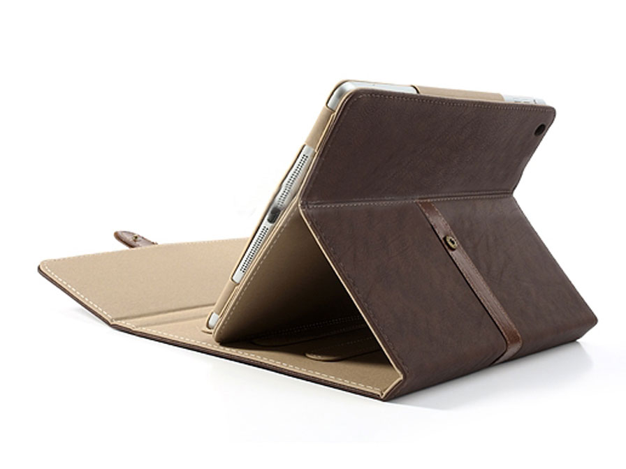 Classic Style Stand Case - iPad 2018/2017/Air 1 hoesje