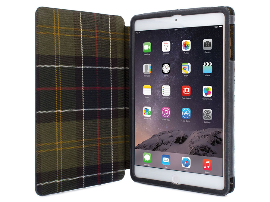 Barbour Quilted Folio Case - iPad Mini 1/2/3 Hoesje