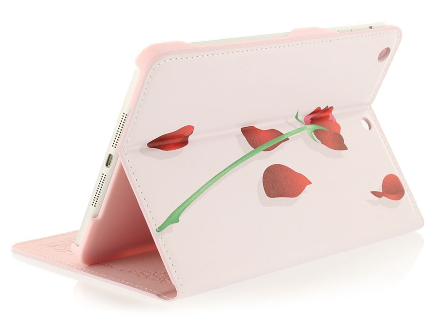 Belle Rose Stand Case - Hoesje voor iPad mini (Retina)