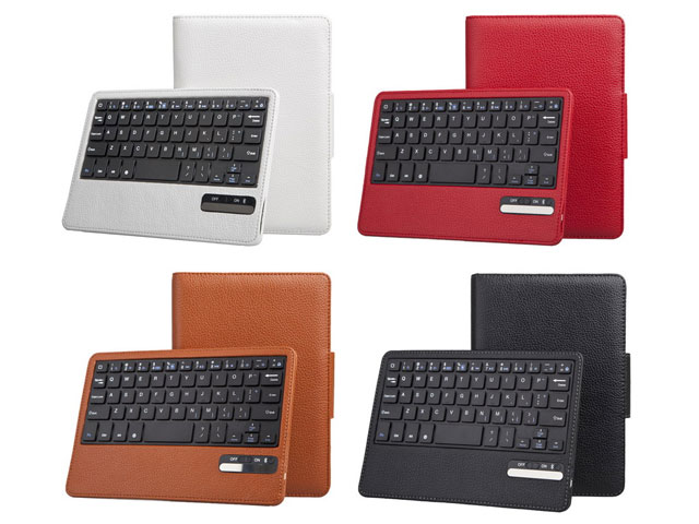 Colored bluetooth keyboard hoesje voor ipad mini 1 2 3