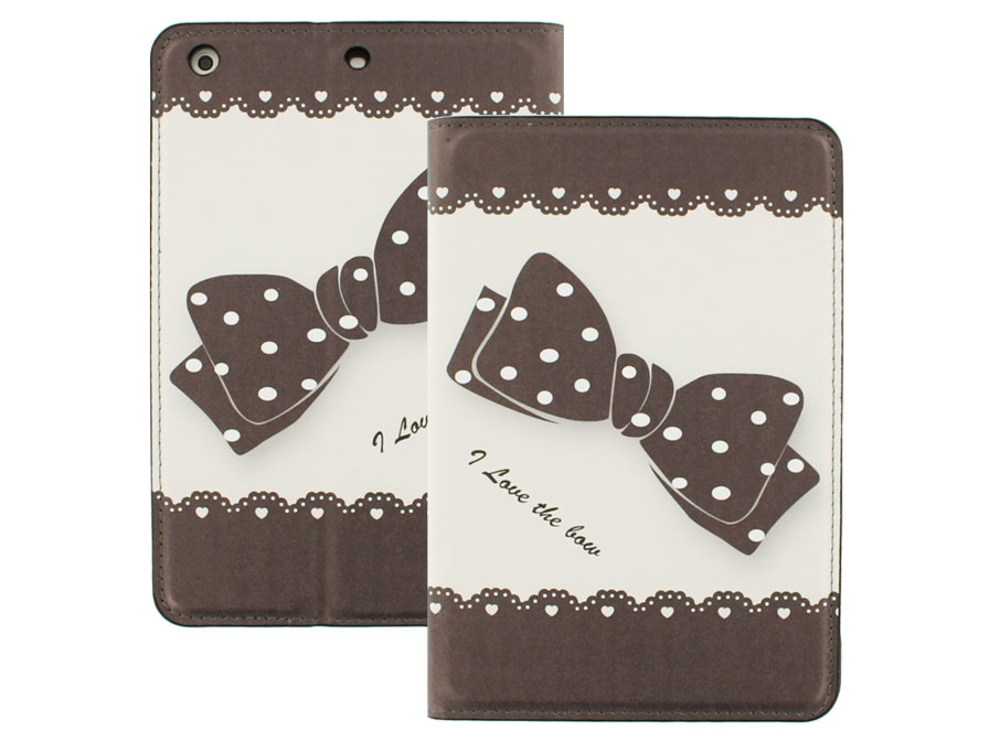 Cute Ribbon Stand Case - Hoesje voor iPad mini (Retina)