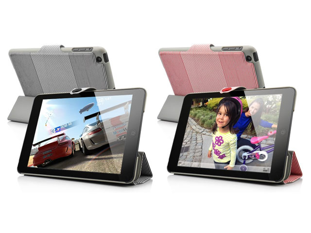 Decorated Smart Stand Case Hoes voor iPad Mini