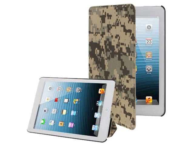 Digital Camo Stand Case Hoes voor iPad Mini