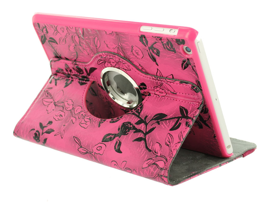 Flower Swivel Case - Draaibare Hoes voor iPad Mini