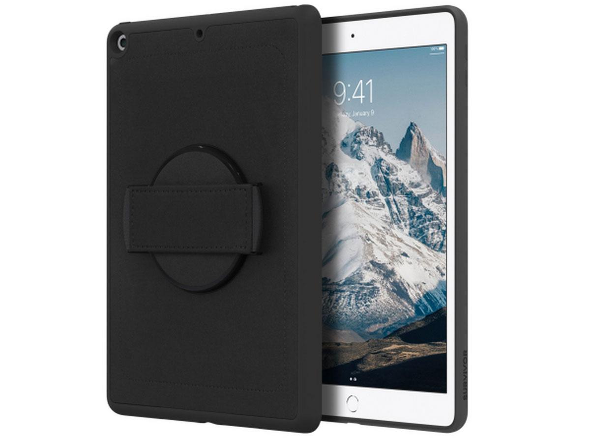 Griffin Survivor Airstrap Case - iPad 10.2 Hoesje met Handgrip Zwart