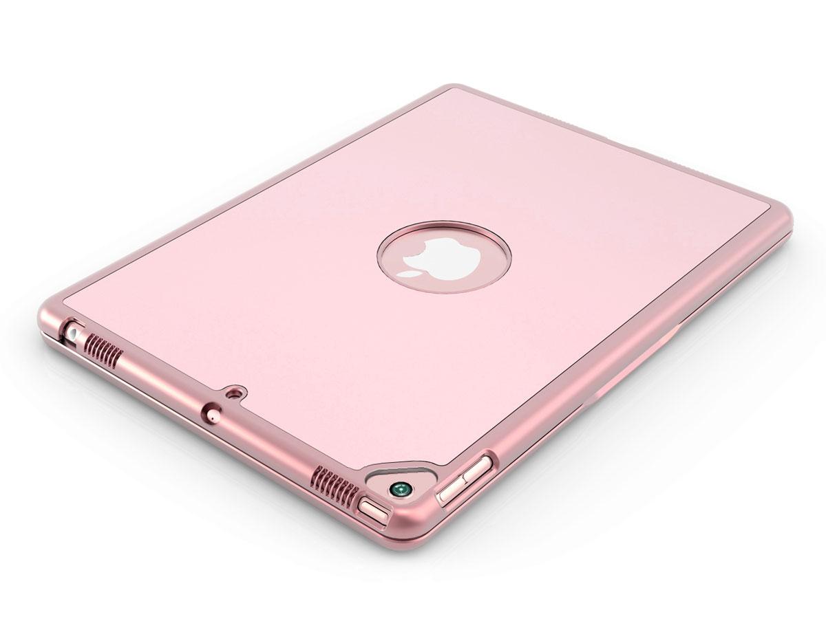 Bluetooth Toetsenbord Case Rosé - iPad 10.2 2019/2020 Hoesje
