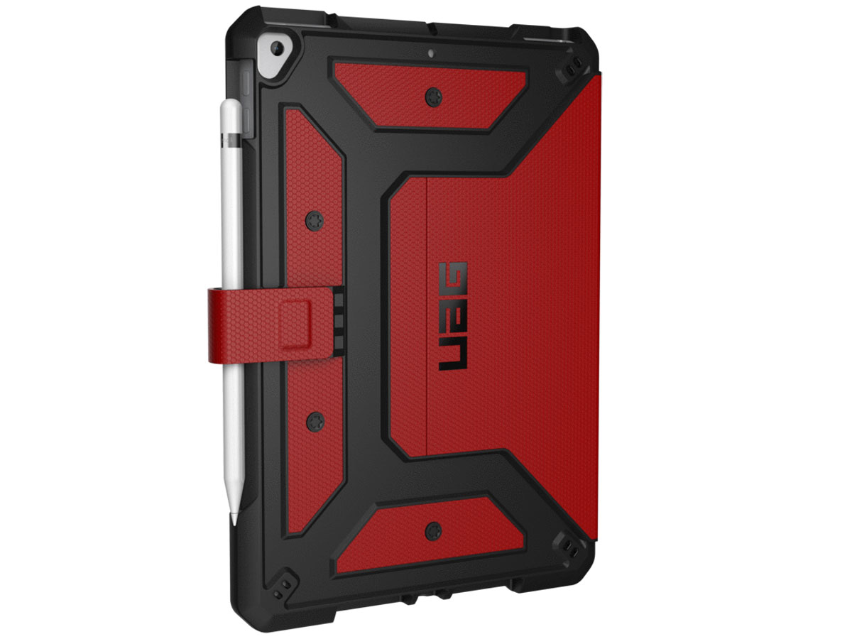 Urban Armor Gear Metropolis Folio Rood - iPad 10.2 (2019/2020) hoesje