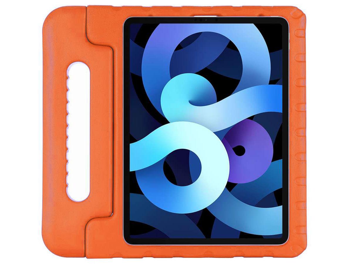 Kids Case Oranje - iPad Air 4 (2020) Hoesje voor Kinderen