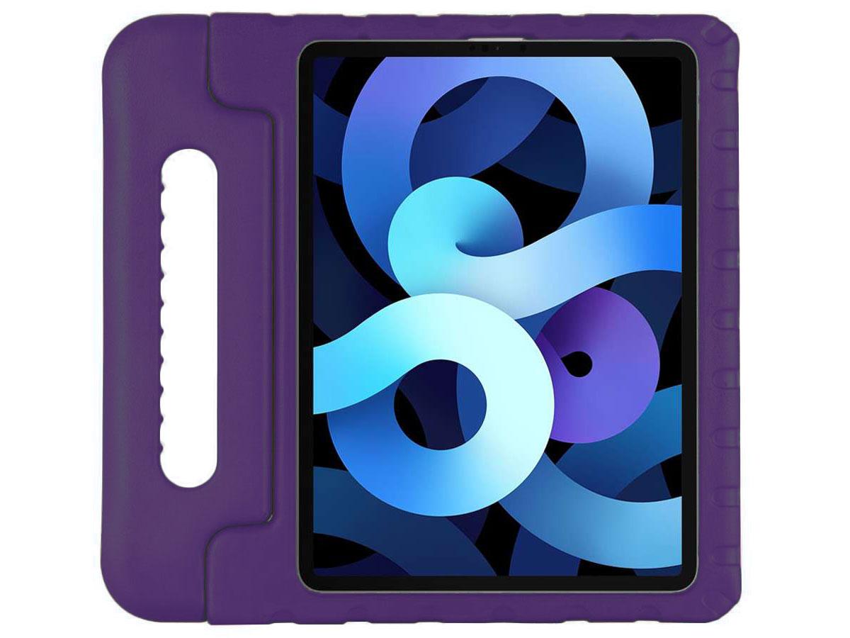 Kids Case Paars - iPad Air 4 (2020) Hoesje voor Kinderen