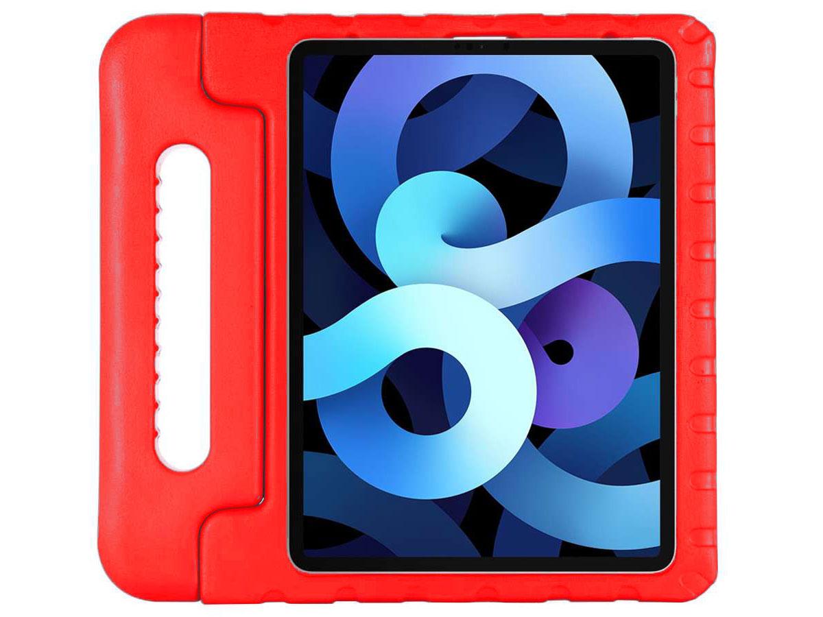 Kids Case Rood - iPad Air 4 (2020) Hoesje voor Kinderen
